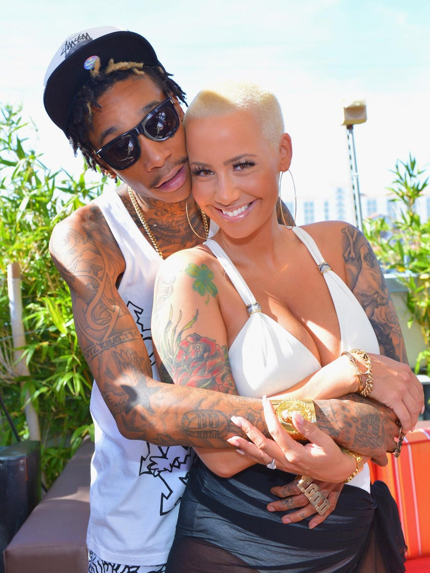 Amber Rose Continues to Show Support to Ex-Husband Wiz Khalifa