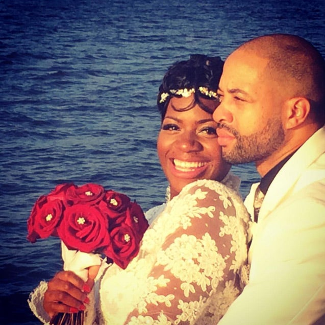 Fantasia and Her Hubby Celebrate First Wedding Anniversary With Romantic Dinner