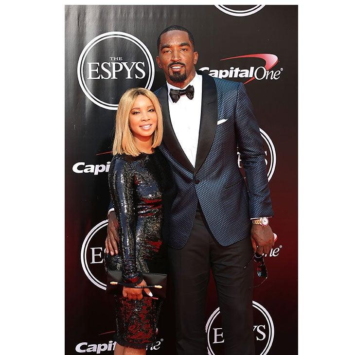 NBA Champ J.R. Smith Marries Longtime Love