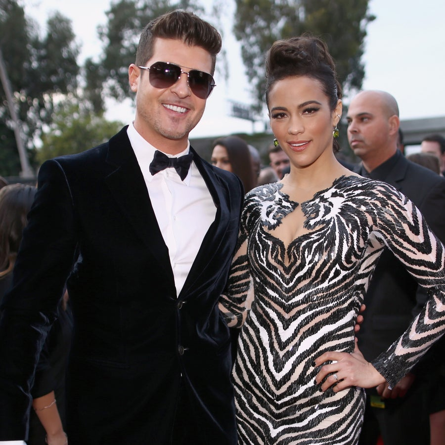 Paula Patton Posts Heartfelt Throwback Photo with Ex Husband Robin Thicke: 'What an Amazing Time in My Life'