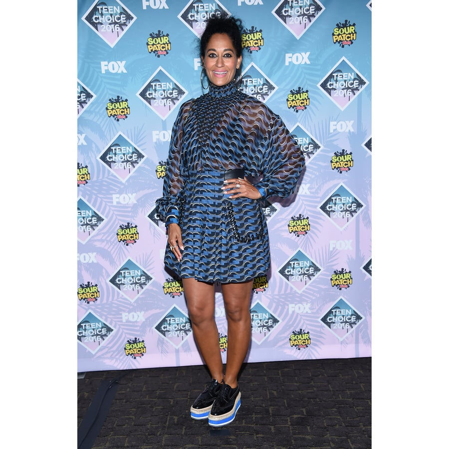 Look of the Day: Tracee Ellis Ross Keeps it Cool in Prada