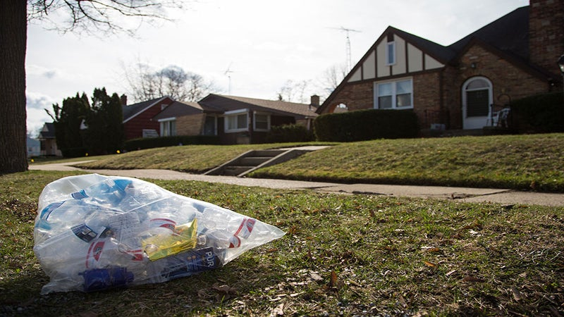 There Will Be No Trash Collection in Flint, Michigan Until Further Notice