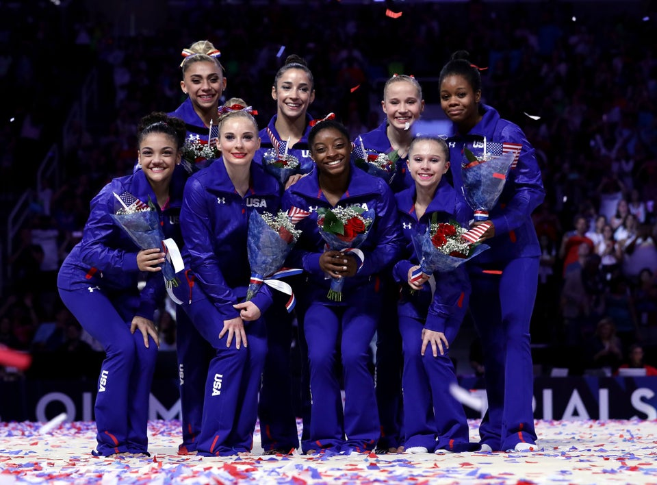 The US Olympic Gymnasts Take Over Social Media with #SquadGoals in Rio