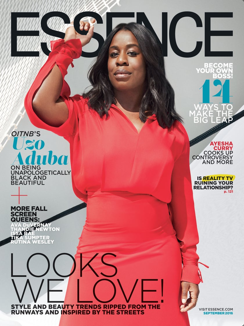 Uzo Aduba Dazzles on the September Issue of ESSENCE