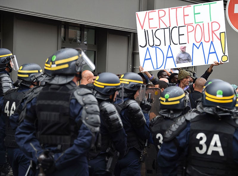 Police and Racism Kill in France Too