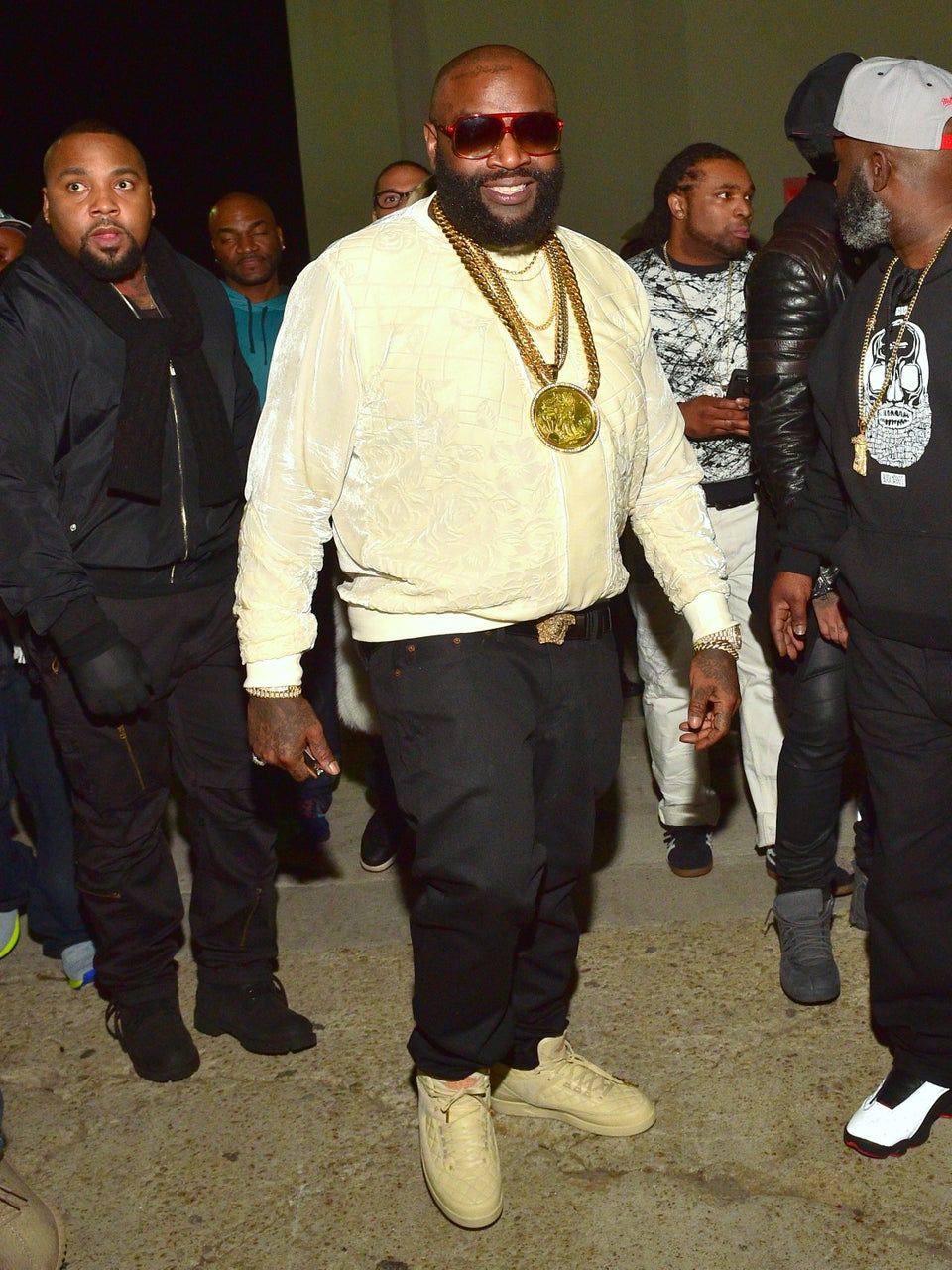 Rick Ross Shows Off 75-Pound Weight Loss