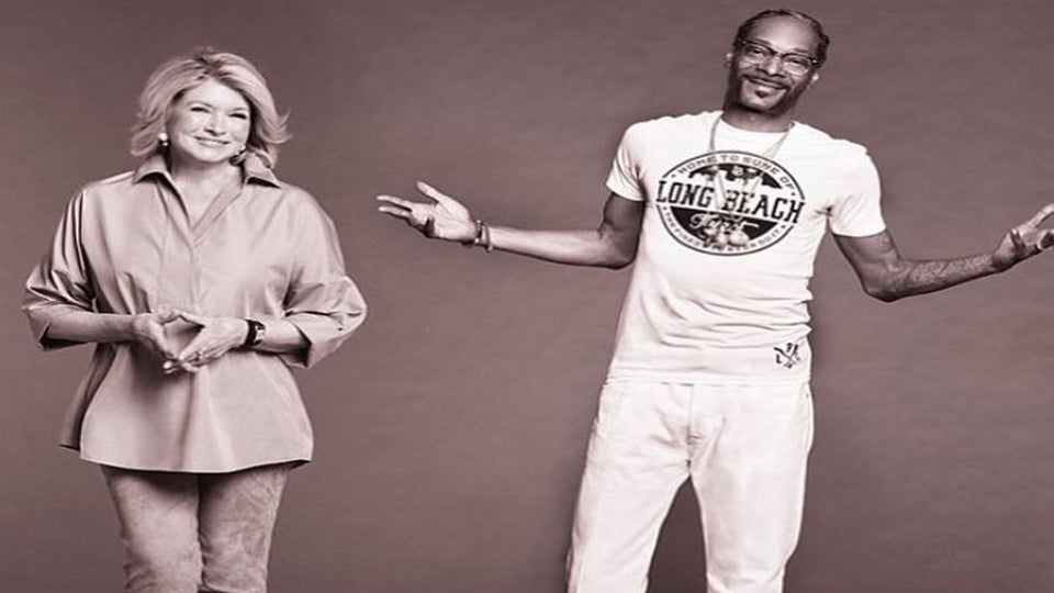 Snoop Dogg and Martha Stewart are Teaming Up for a 'Dinner Party' Series on VH1