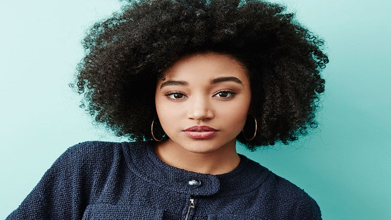 Amandla Stenberg Posted Yet Another Killer Hair Selfie, and Now We Need To Step Up Our Curl Game ASAP