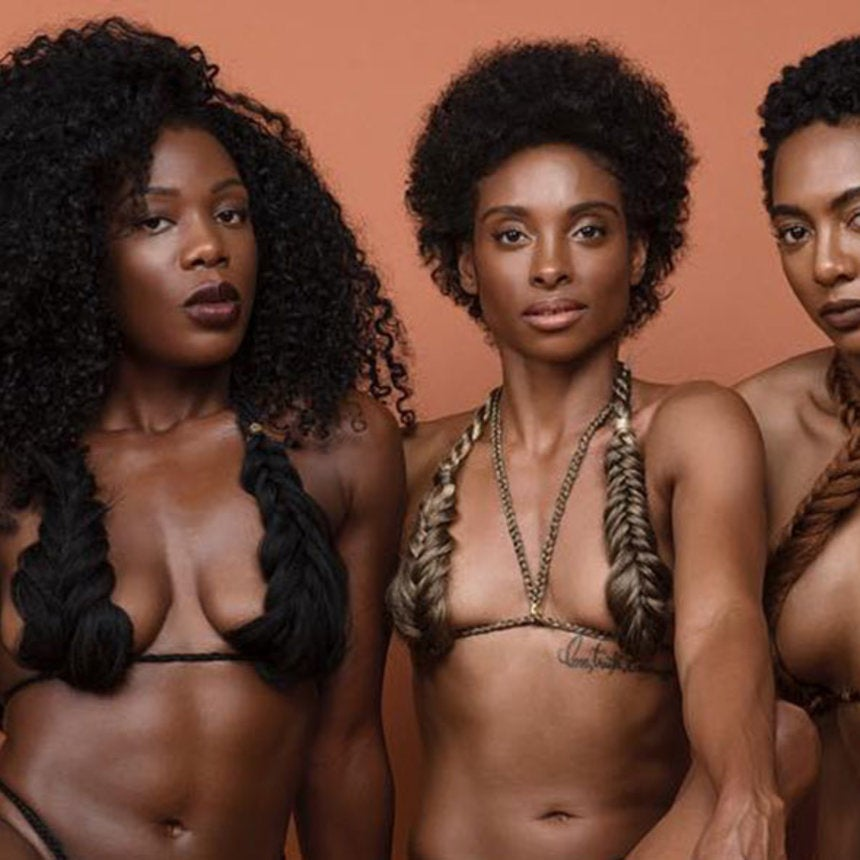 Check Out the Gravity-Defying Hair In the Latest 'Colored Girl Campaign' Photos