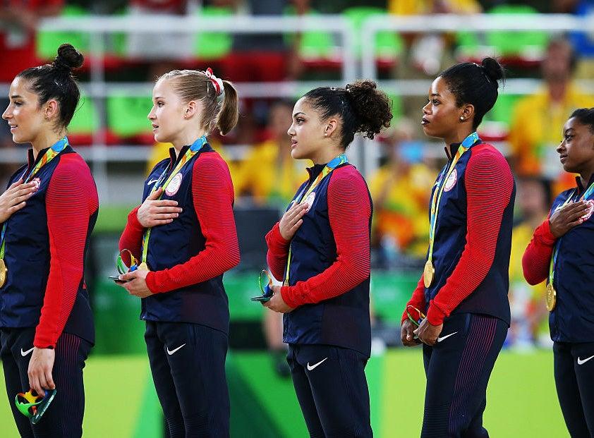 Gabby Douglas On National Anthem Flub: 'I Never Meant Any Disrespect'