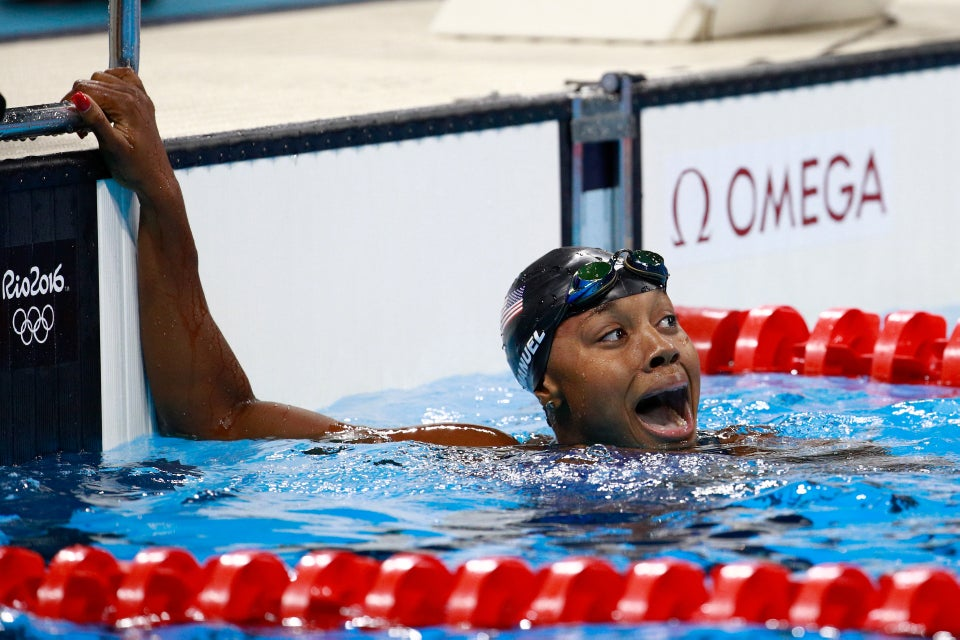 Simone Manuel is the First African-American Woman to Win Individual Gold Medal in Swimming