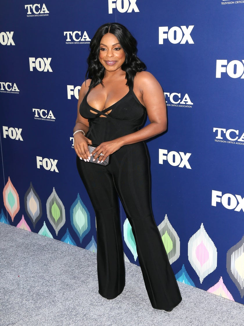Amber Rose and Niecy Nash Both Slay Herve Leger Jumpsuit and We're Here For It