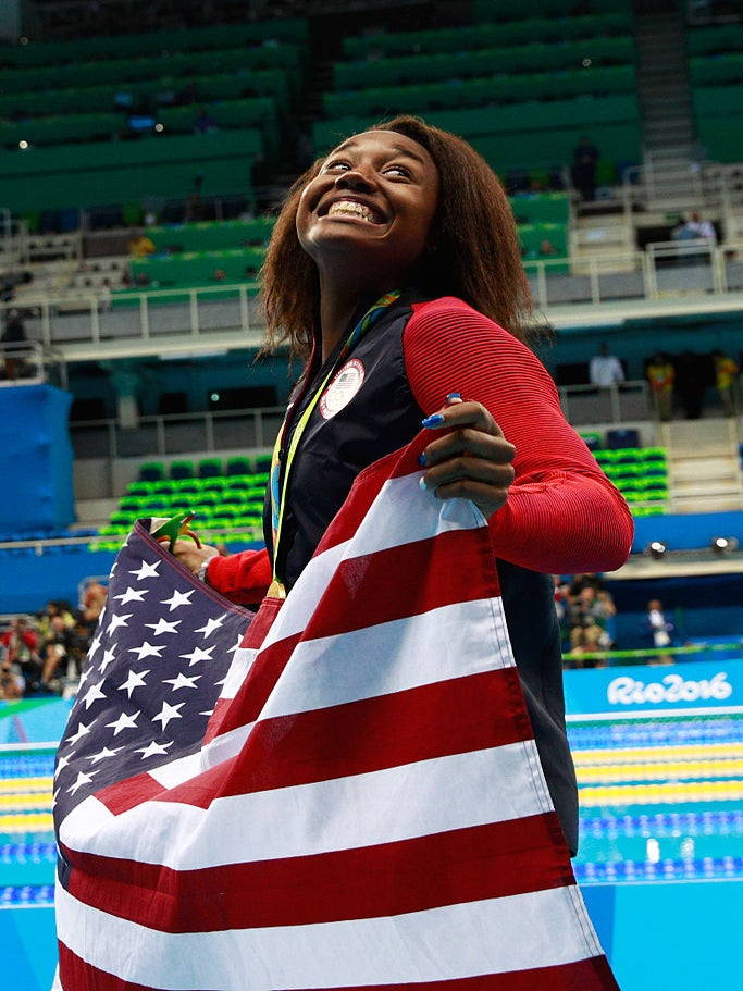 Simone Manuel Talks Race and Police Brutality Following Olympic Win
