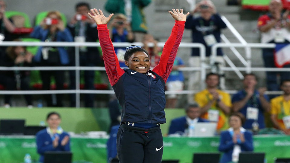 Simone Biles Celebrates Her Olympic Win on Twitter – Along with the Rest of the Internet