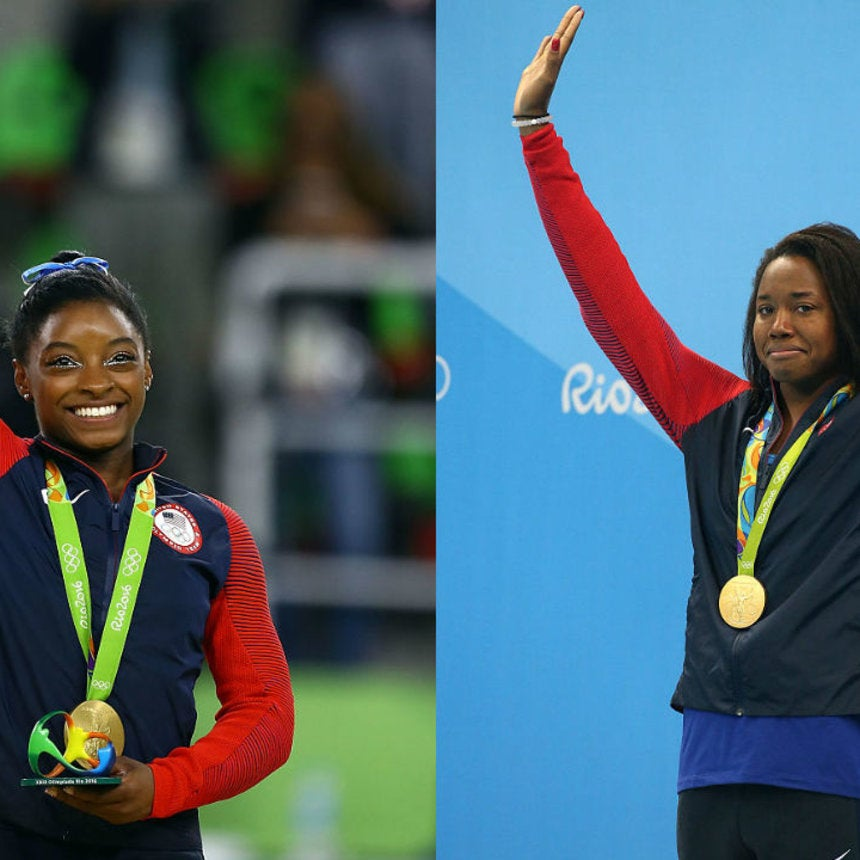 Olympic Gold Medalists Simone Biles and Simone Manuel Take the Cutest Selfie Ever, Twitter Melts