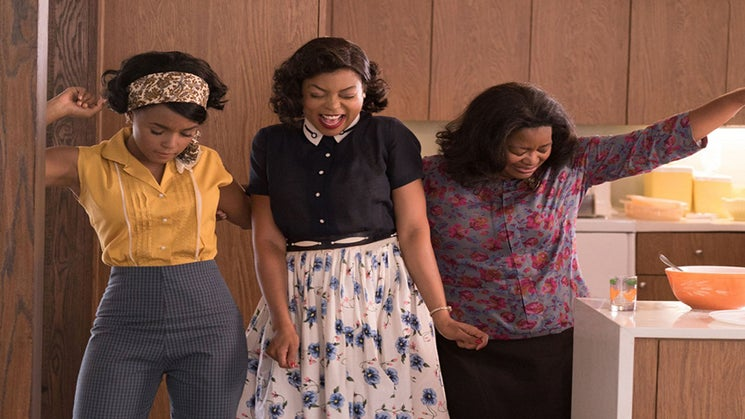 Octavia Spencer Gives Props to Hidden Figures Costar Taraji P. Henson Amid Film's Huge Success: 'Glad to Be Your Wing Woman'
