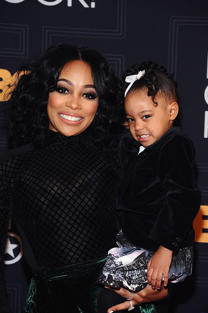 Monica's Daughter Laiyah Has The Cutest Video Message For 'Auntie' Toya Wright