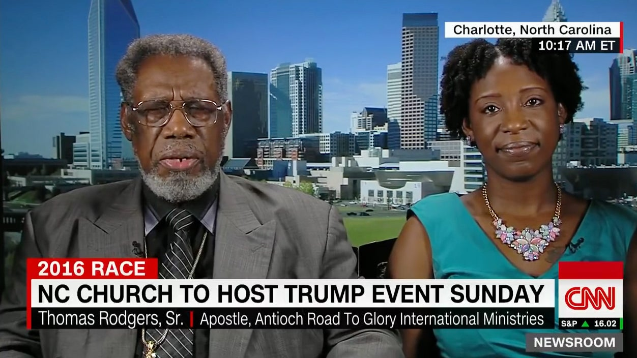 Why Did This Historically Black Church Endorse Donald Trump?