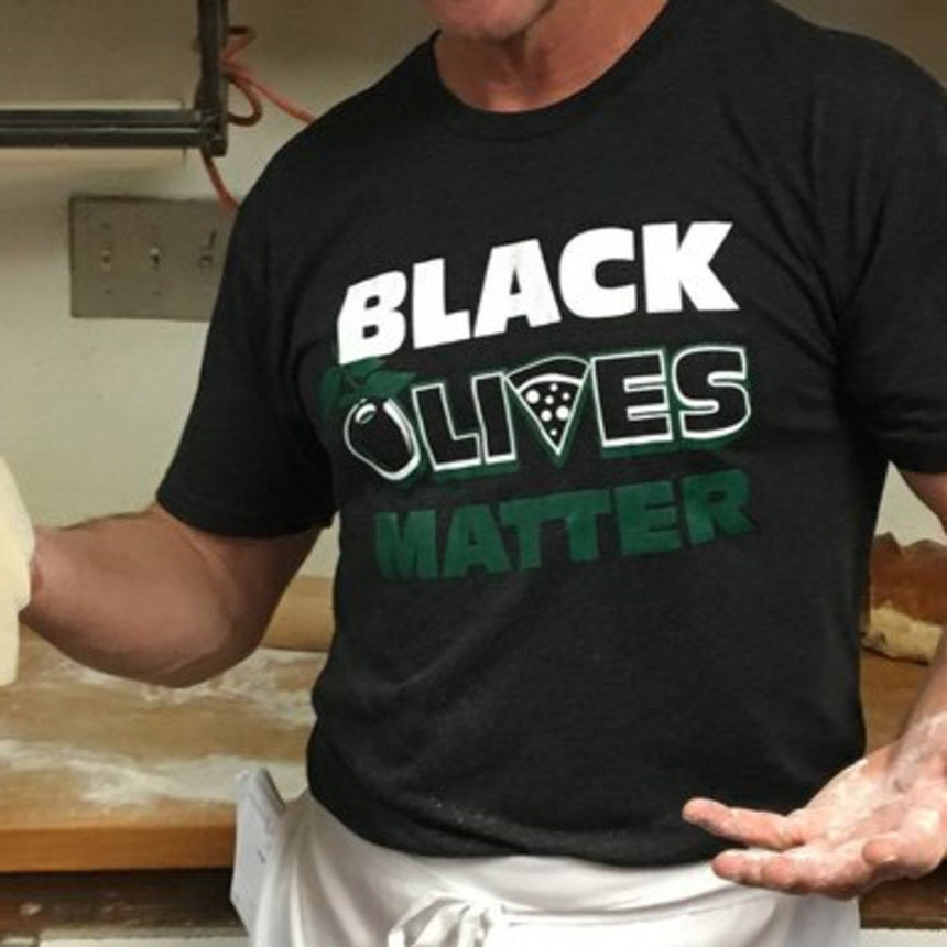 New Mexico Restaurant Under Fire for Selling 'Black Olives Matter' Merchandise