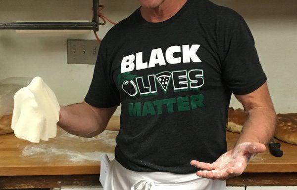 New Mexico Restaurant Under Fire for Selling 'Black Olives Matter' Merchandise