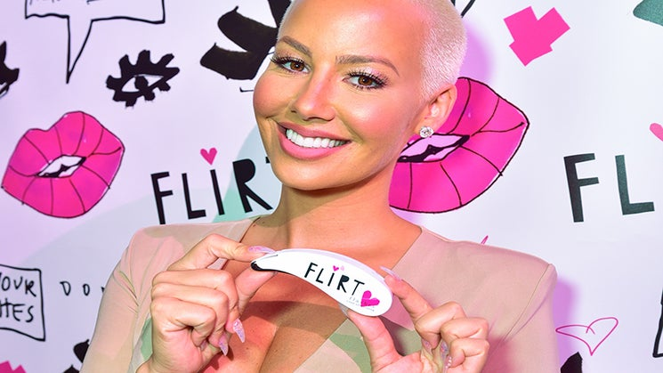 Here's A Sneak Peek At the Upcoming Amber Rose x Flirt Cosmetics Collab