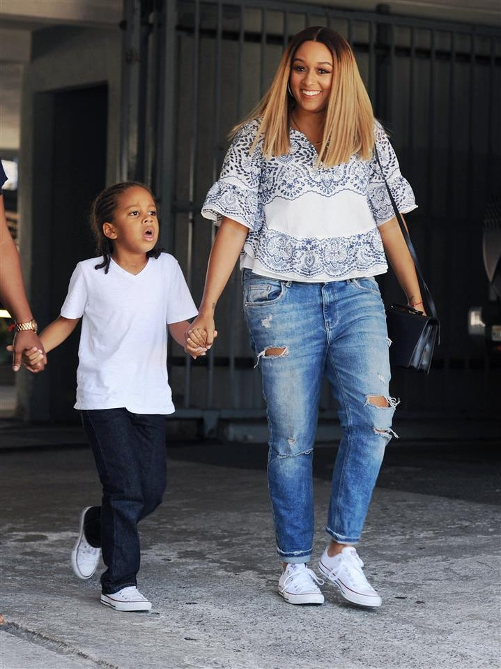 Tia Mowry-Hardrict Won't Cut Her Son's Hair, No Matter What You Think