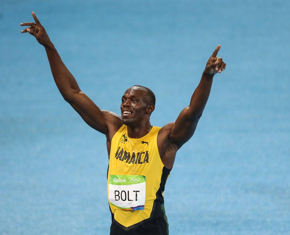 Meet Usain Bolt's Stunning and Super Supportive Girlfriend