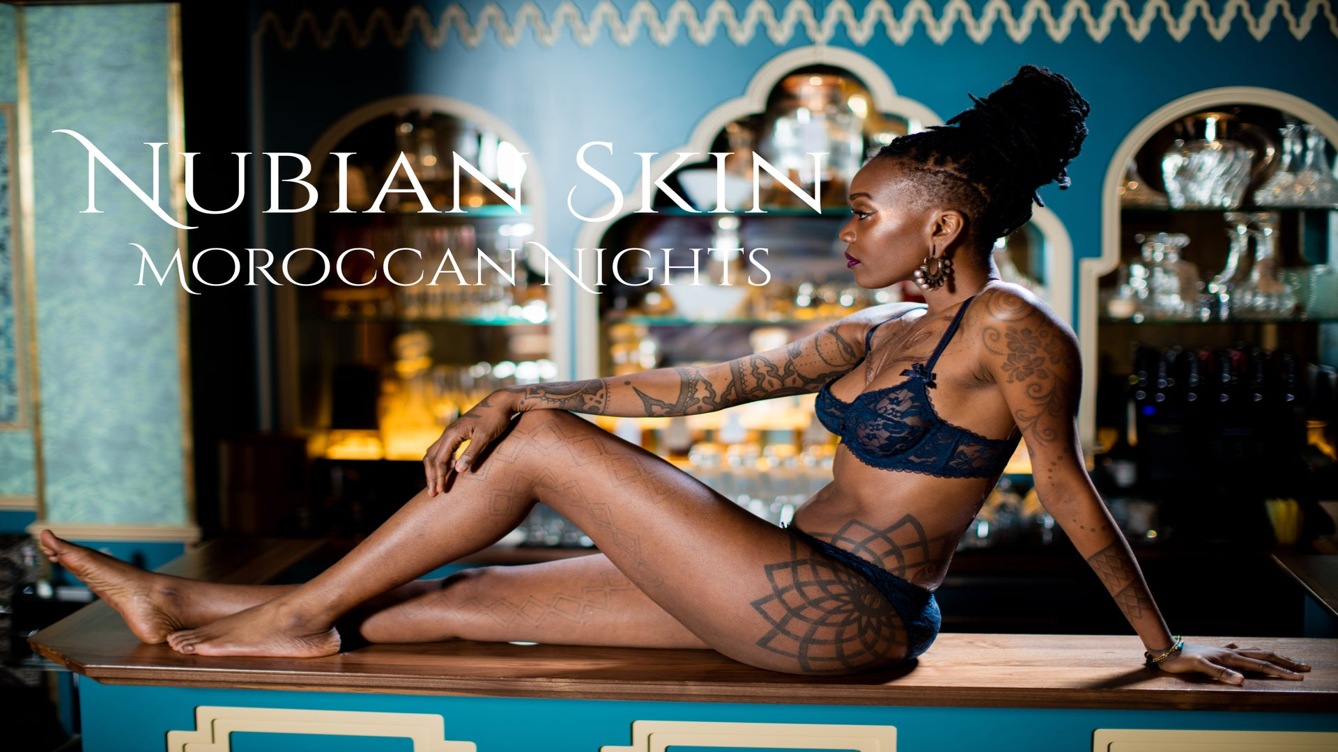 Nubian Skin Debuts 'Moroccan Nights' Lingerie Collection