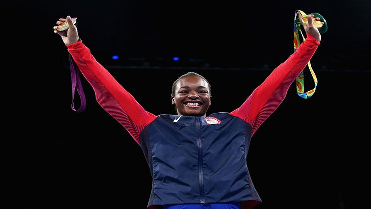 Claressa Shields Is the First American Boxer to Win Two Olympic Gold Medals