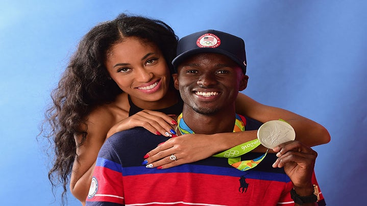In Case You Missed It: Olympian Will Claye Proposing to His Girlfriend Was Everything