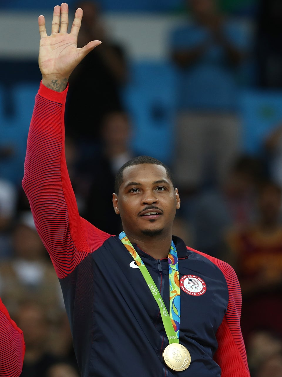 Carmelo Anthony Says Goodbye to Team USA After Winning Third Gold Medal at Olympics