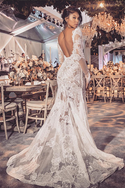 The Most Breathtaking Celebrity Wedding Gowns - Essence