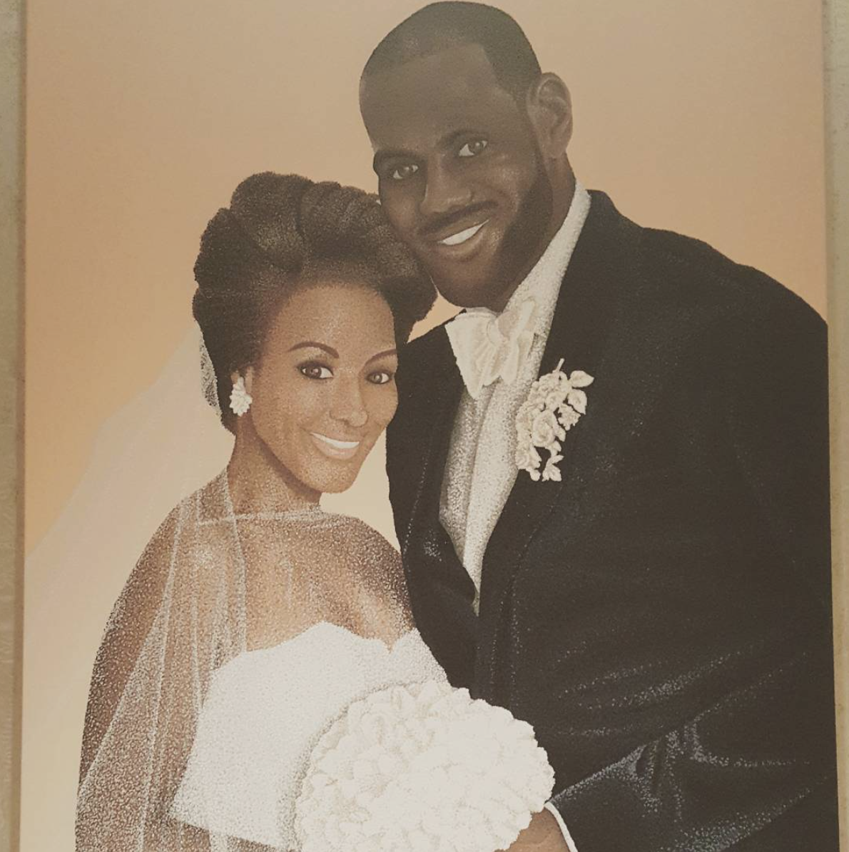 f5f0629b25f9 23 Times LeBron James and His Wife Savannah Were the Perfect Pair ...