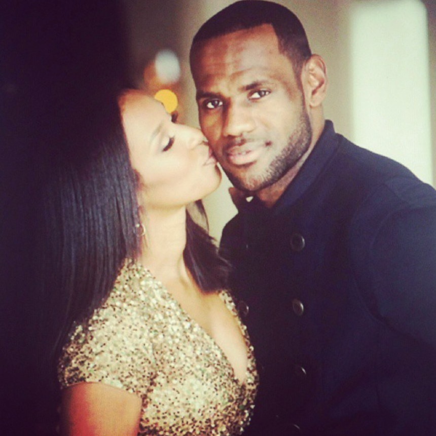 23 Times LeBron James and His Wife Savannah Were the Perfect Pair
