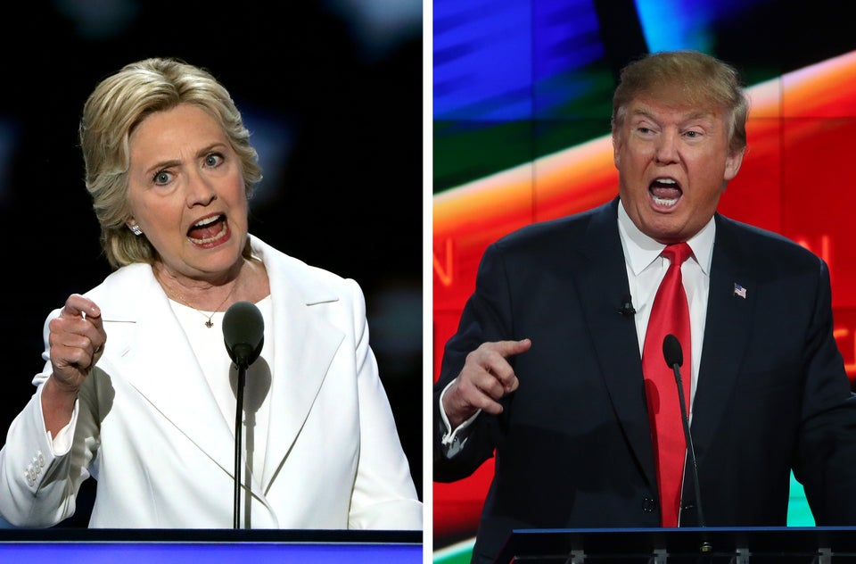 Hillary Clinton Calls Out Donald Trump For Supporting Blatantly Racist Values