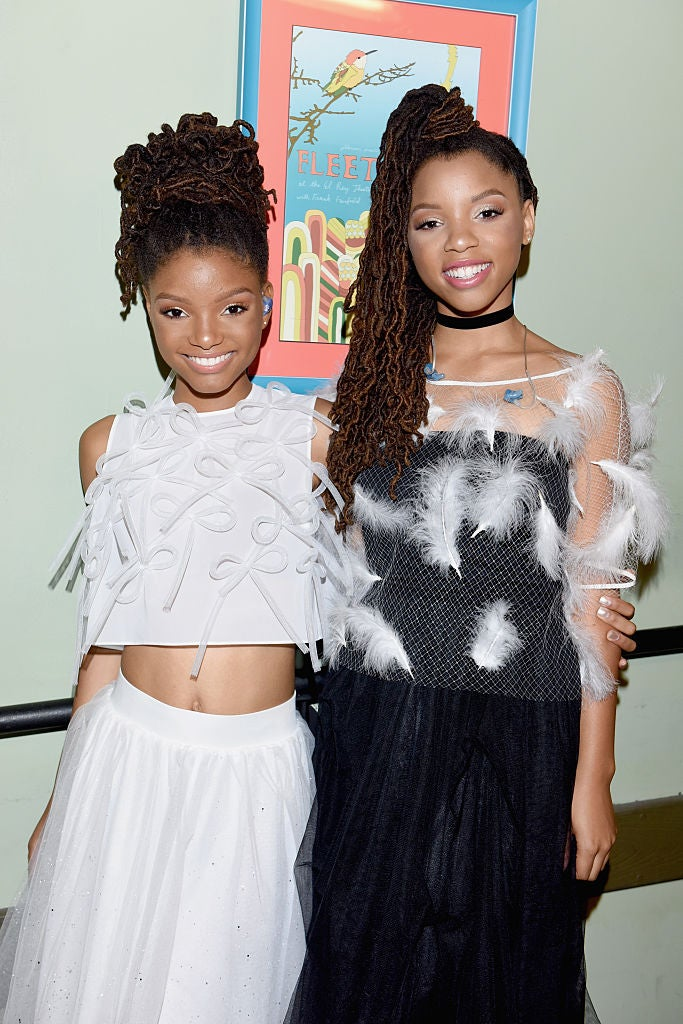 Beyonce Shares Video Of Chloe And Halle Performing Black Beatles