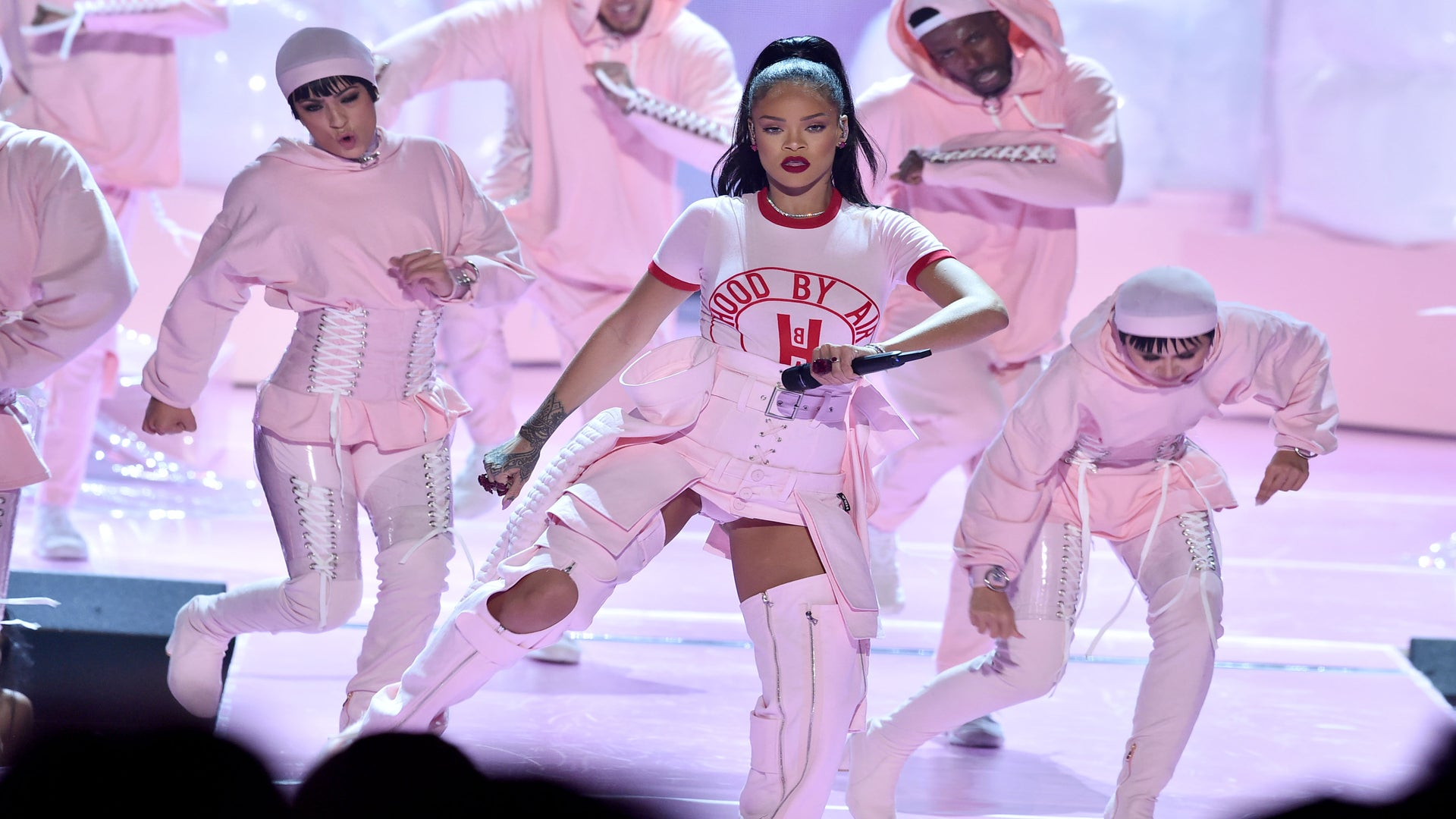 Rihanna's VMA Outift is Next Level Like We Knew it Would Be