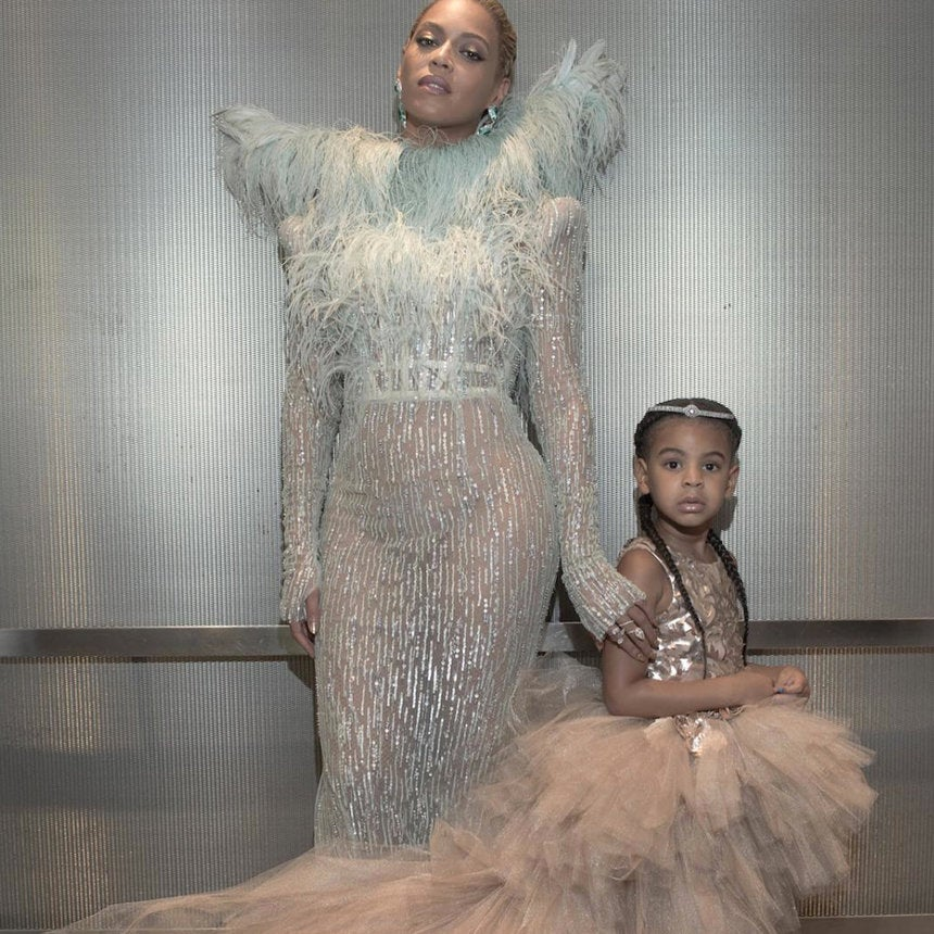 8 Photos of Beyonce and Blue Ivy at the VMAs Just Because