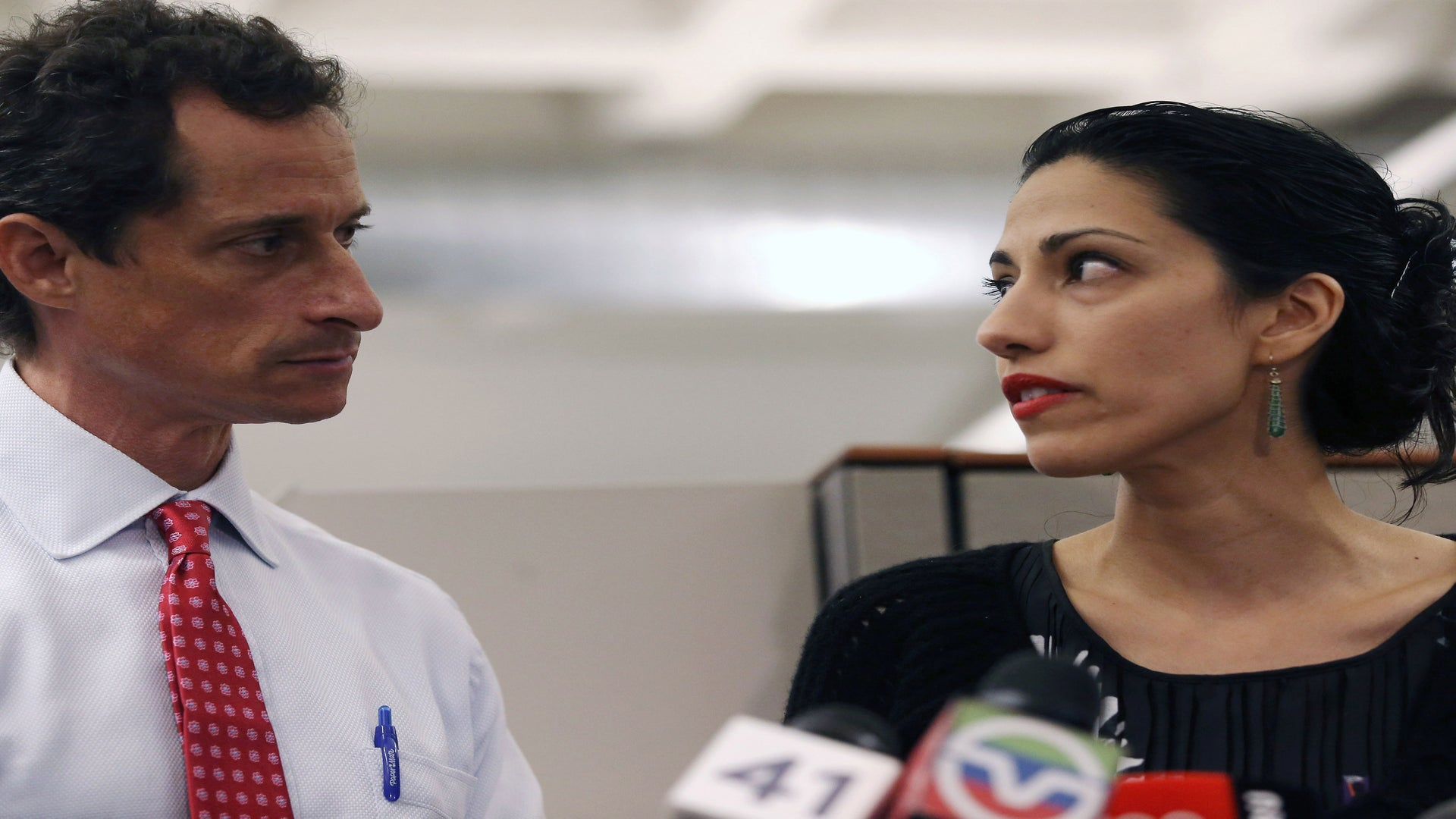 """A """"Furious and Sickened"""" Huma Abedin Announces Separation From Anthony Weiner Amid Sexting Scandal"""