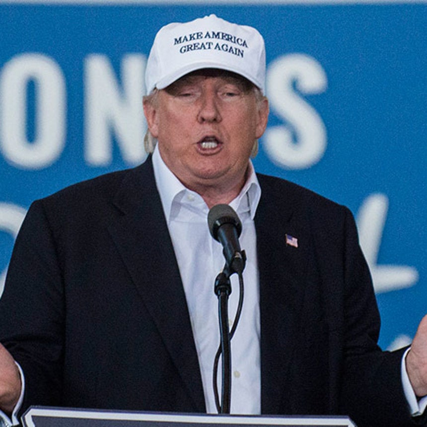 """Donald Trump Kicks Black Supporter Out Of Campaign Rally After Calling Him """"A Thug"""""""