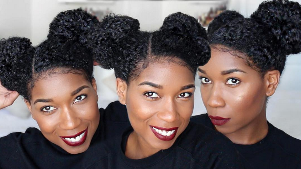 """#TipTuesday: Revive Old Hair With Naptural85's """"Perky Space Buns"""" Tutorial"""
