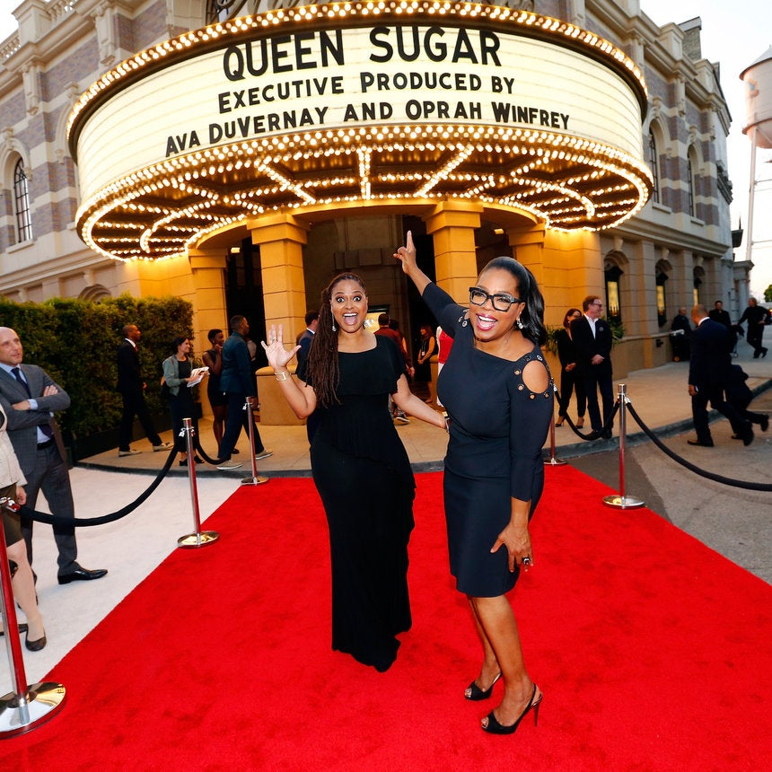 "Oprah Winfrey and Ava DuVernay Shine at  OWN's ""Queen Sugar"" Premiere"