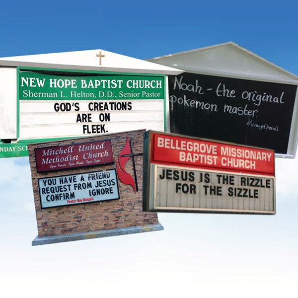 The 31 Funniest Church Signs Ever Essence