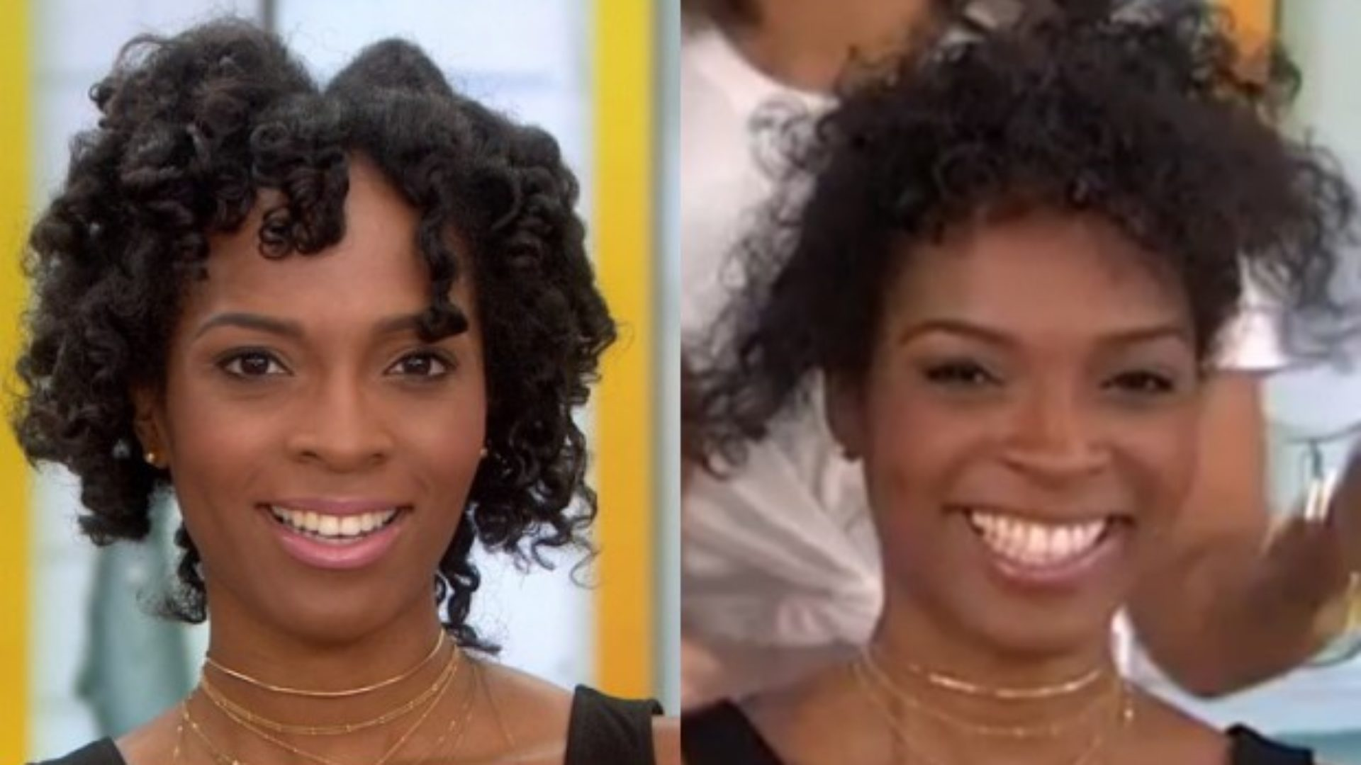 Black Woman\'s Horrible Natural Hair Makeover on the TODAY ...