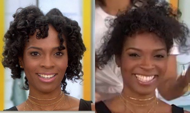 Black Womans Horrible Natural Hair Makeover On The Today Show Goes