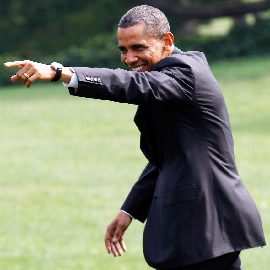 Definitive Proof That Barack Obama Was The Swaggiest President Ever