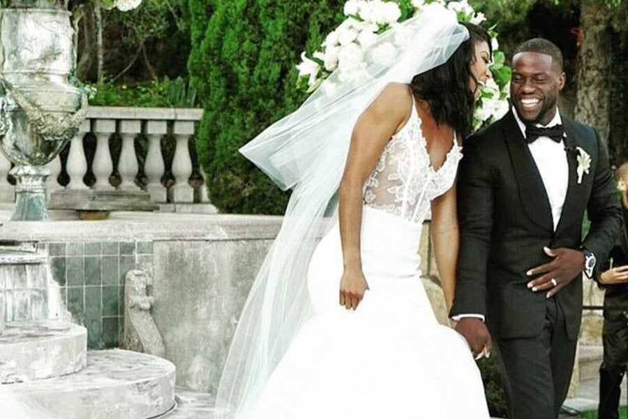 Inside Kevin Hart and Eniko Parrish's Wedding Day - Essence
