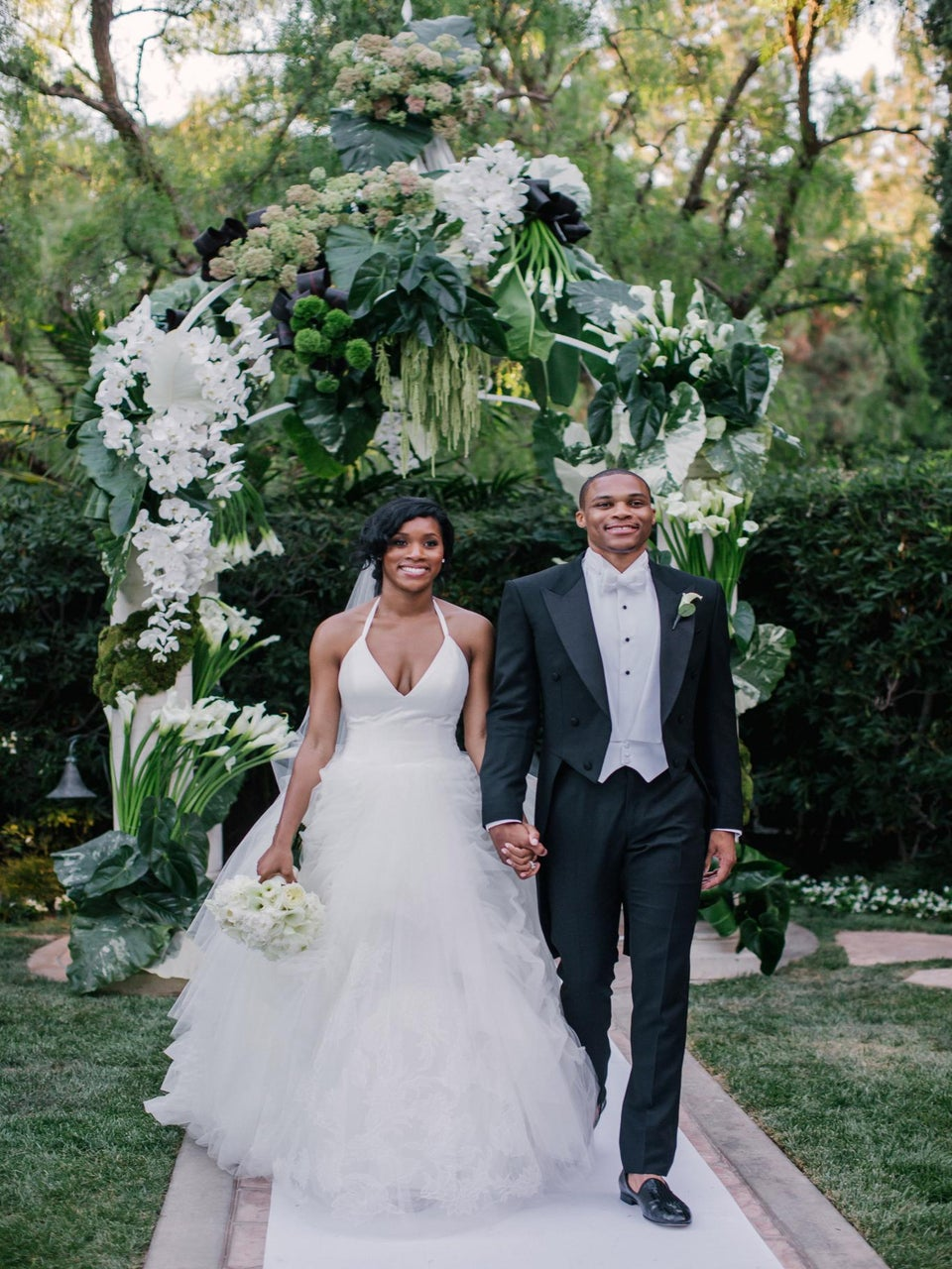 Russell and Nina Westbrook Celebrate First Anniversary with a Sweet Message