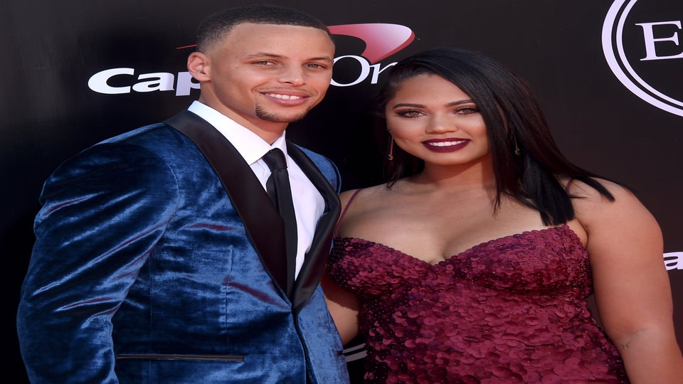 Steph and Ayesha Curry Hit the Race Track for a Date