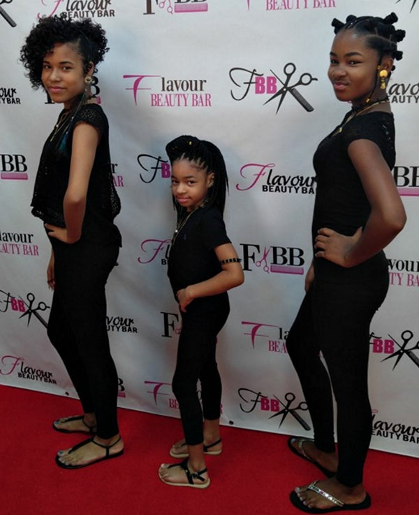 These 3 Little Sisters Are Giving Us Life With Their Back-To-School Natural Hair Slayage